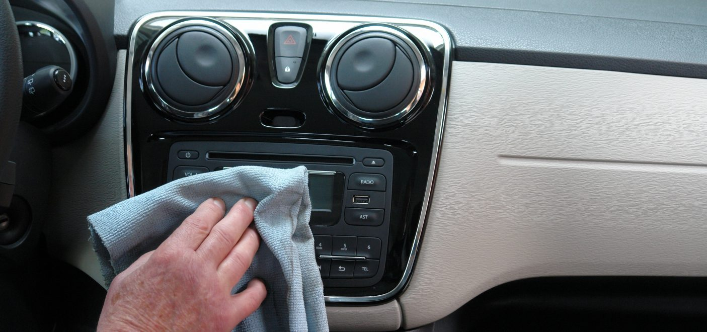 Auto Desinfektion durch Ozonbehandlung
